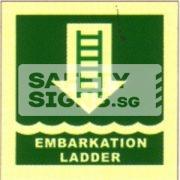 Embarkation Ladder, Marine use.