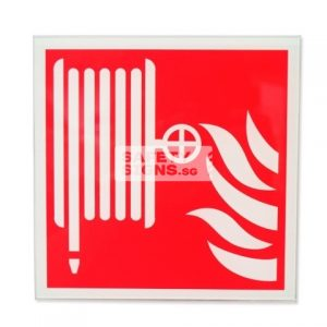 Fire Hose Reel. Acrylic - Suitable for indoor use.