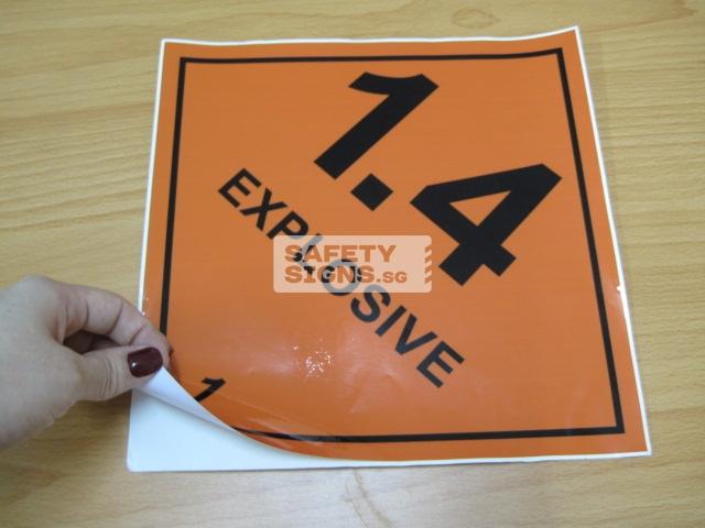 Explosive 1.4. Vinyl Sticker.