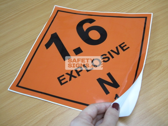 Explosive 1.6N. Vinyl Sticker.
