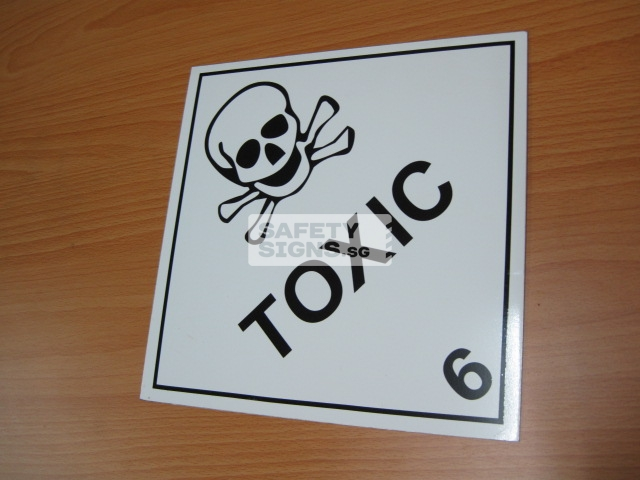 Toxic. Aluminum - Suitable for outdoor use.