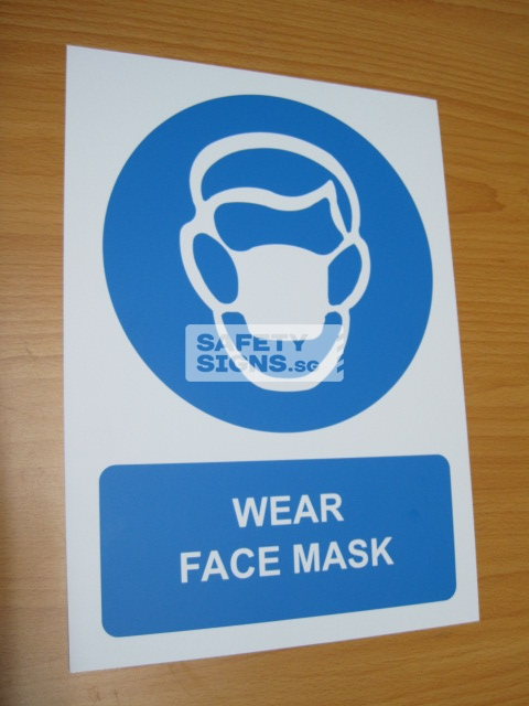 Wear Face Mask. Aluminum - Suitable for outdoor use.