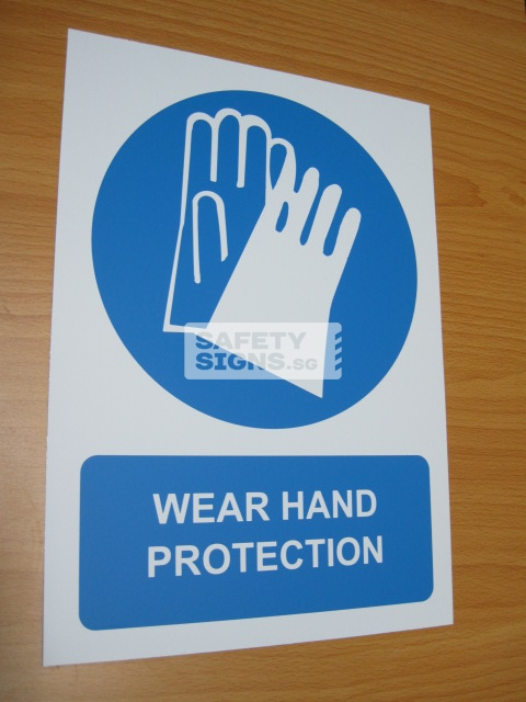 Wear Hand Protection. Aluminum - Suitable for outdoor use.
