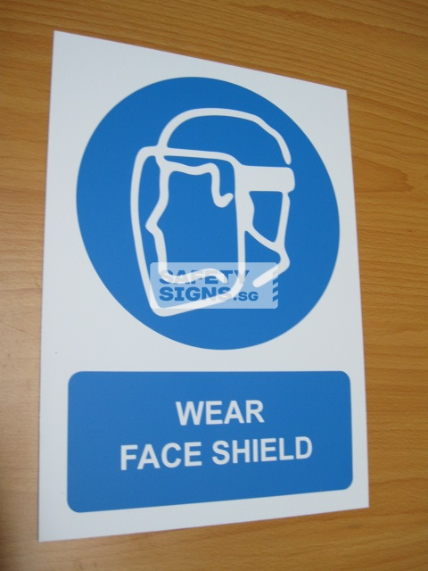 Wear Face Shield. Aluminum - Suitable for outdoor use.