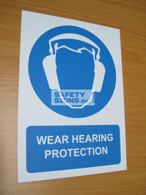 Wear Hearing Protection. Aluminum - Suitable for outdoor use.