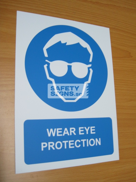 Wear Eye Protection. Aluminum - Suitable for outdoor use.