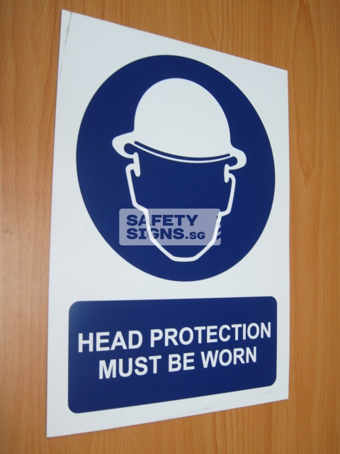 Head Protection Must Be Worn. Aluminum - Suitable for outdoor use.