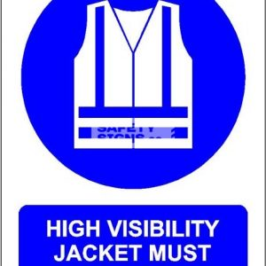 High Visibility Jacket Must Be Worn. Aluminum - Suitable for outdoor use.