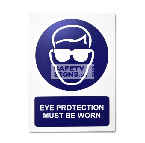 Eye Protection Must Be Worn. Aluminum. Suitable for Outdoor use.