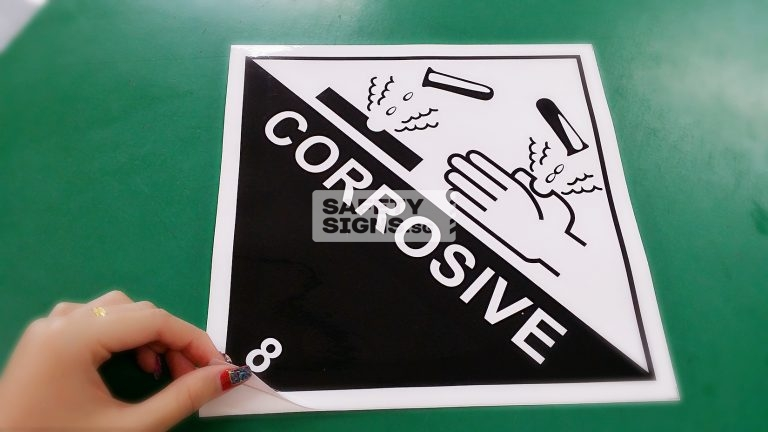 Corrosive 8. Vinyl Sticker