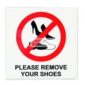Please remove your shoes. Acrylic - Suitable for indoor use.