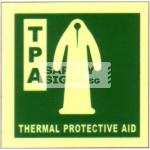 Thermal Protective Aid, Marine Use.
