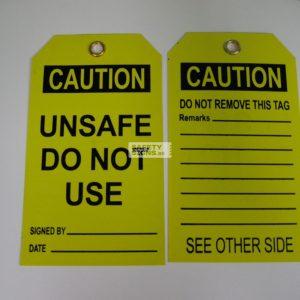 Unsafe Do Not Use.