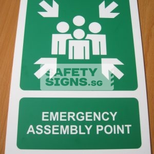 Emergency Assembly Point .PVC