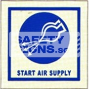 Start Air Supply. Luminous, Marine use.
