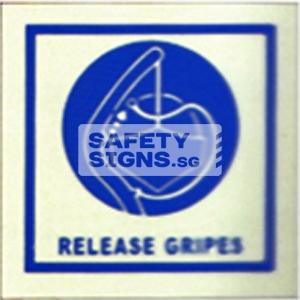 Release Gripes. Luminous, Marine use.