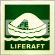 Liferaft. Luminous, Marine use.