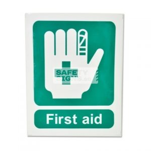 First Aid, Vinyl Sticker.