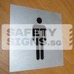 Toilet Male, Acrylic.