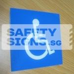 Handicap Toilet, Acrylic.