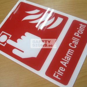 Fire Alarm Call Point. Acrylic