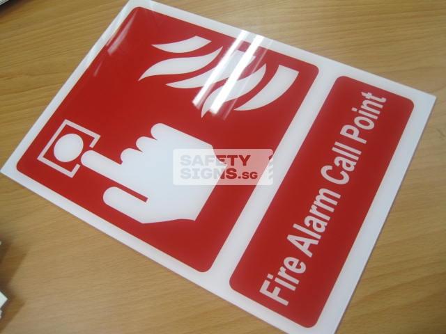 Fire Alarm Call Point. Acrylic