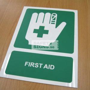 First Aid, PVC.
