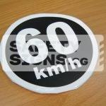 60km/h, Vinyl Sticker.