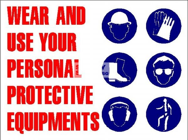 Wear and use your Personal Protective Equipments - Aluminum, suitable for outdoor use.