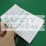 Scaffold Inspection Chart Sticker 2