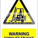 Warning Forklift Trucks