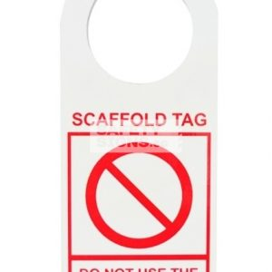 Scaffold Inspection Tag - NOT SAFE FOR USE