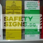 Scaffold Erection & Inspection Record