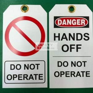 Hands Off Do Not Operate