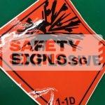 Explosive 1-1D. Vinyl sticker.