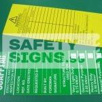 SCAFFTAG - Scaffold Erection & Inspection Record