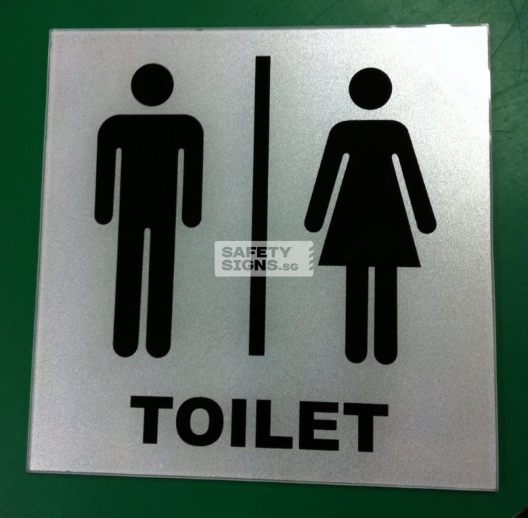 Toilet Unisex . Acrylic - Suitable for indoor use.