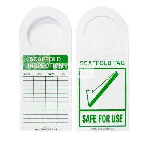 Scaffold Inspection Tag - SAFE FOR USE (LT053_PL)