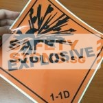 Explosive 1-1D. Vinyl Sticker
