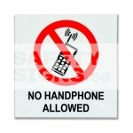 No Handphone Allowed