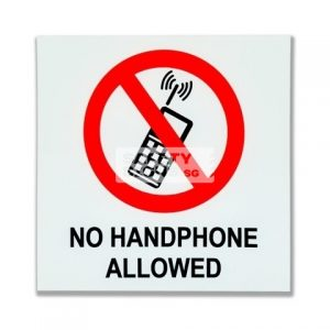 No Handphone Allowed