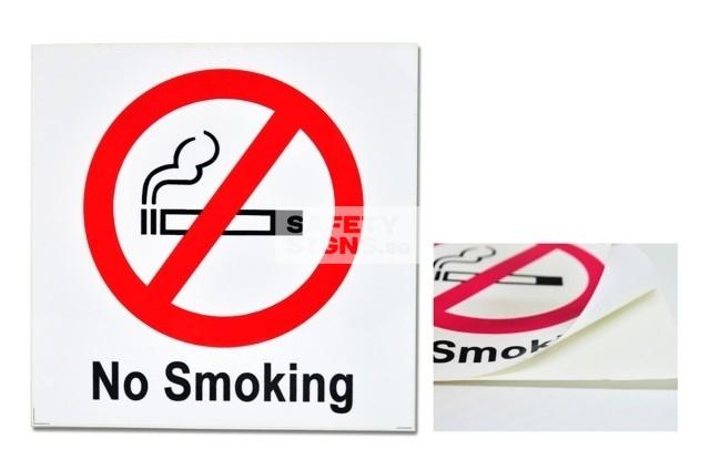 No Smoking. Vinyl Sticker.