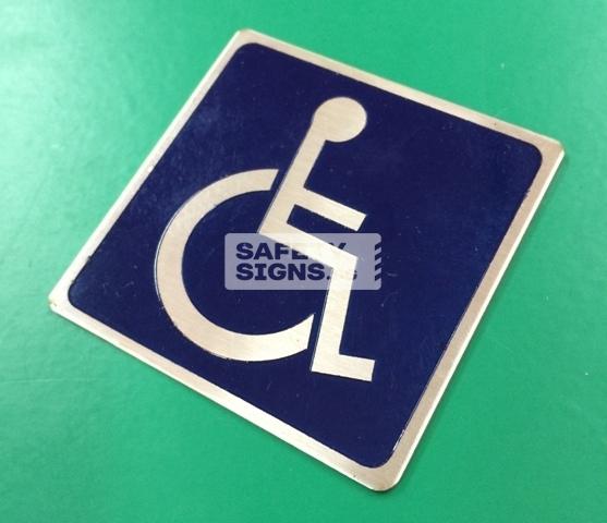 handicap Label (LL056_SS)