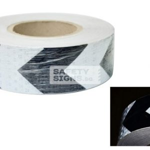 Diamond Tape Printed - Black / White