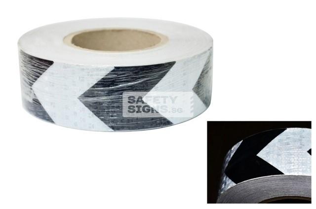 Diamond Tape Printed - Black / White