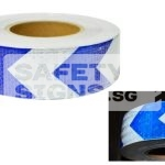 Diamond Tape Printed - Blue / White