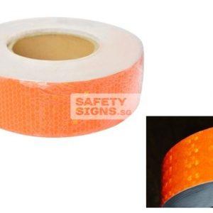 Diamond Tape Solid - Orange