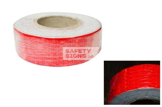 Diamond Tape Solid - Red