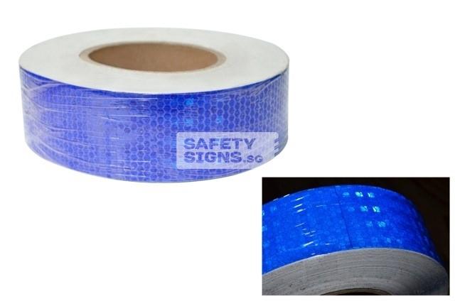 Diamond Tape Solid - Blue