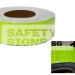 Diamond Tape Solid - Fluorescent Yellow
